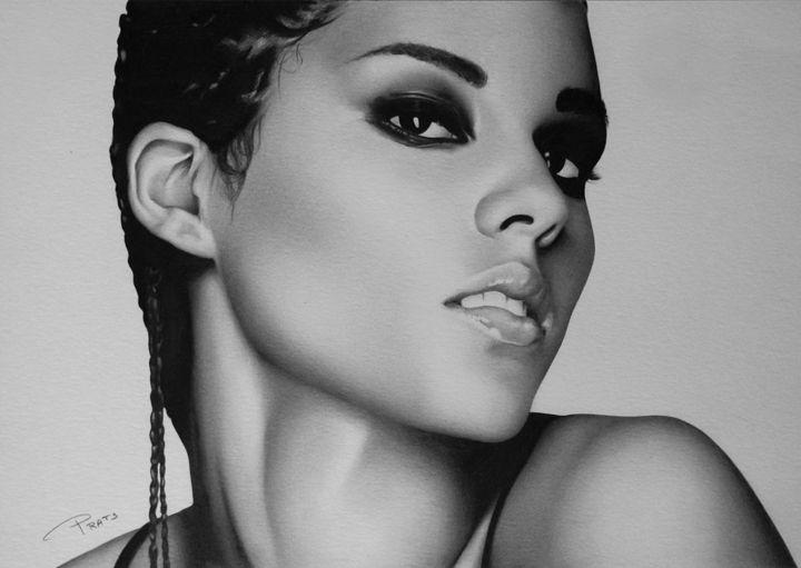 Alicia Keys - Traditional Drawings