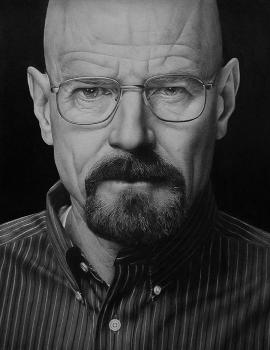 Breaking Bad - Traditional Drawings