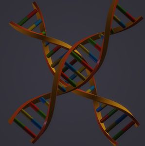 Abstract DNA design.