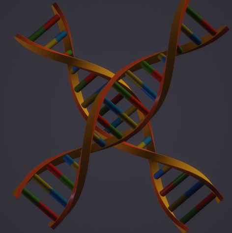 Abstract DNA design. - Vaibhav's collection