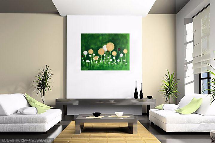 Golden Spring Flowers - Nineke Havinga