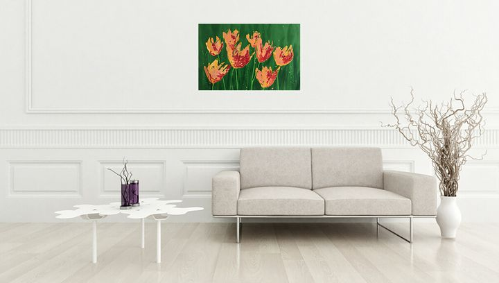 Wild Tulips - Nineke Havinga