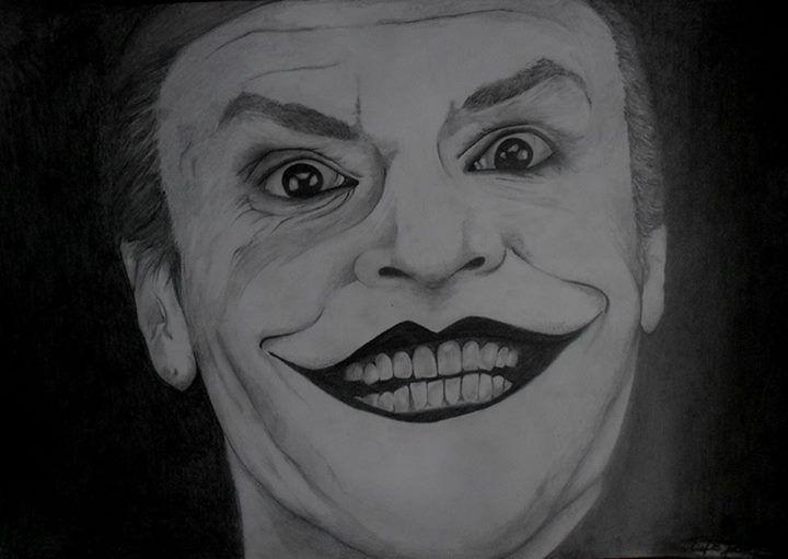 The Joker - Portraits, pencil
