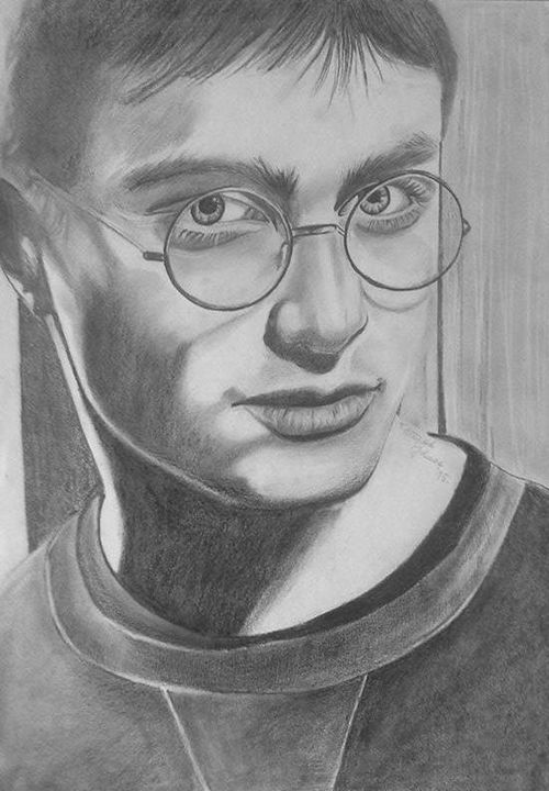 Harry Potter - Portraits, pencil