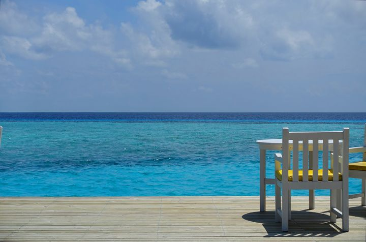 Blue Waters in the Maldives - Jude Michael