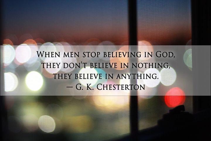 When Men Stop Believing - Jude Michael