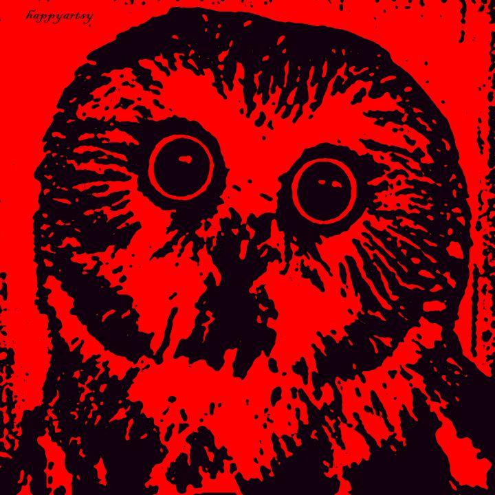 Owl - Happyartsy