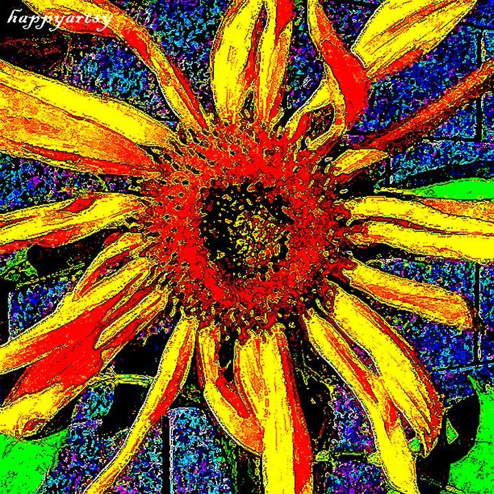 Sunflower by happyartsy - Happyartsy