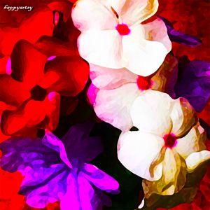 Flowers by happyartsy
