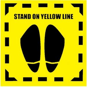 Stand On Yellow Line (Yellow )