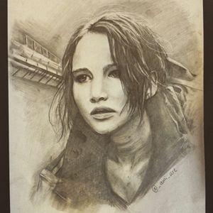 Katniss drawing