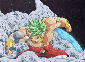Broly LSS FighterZ