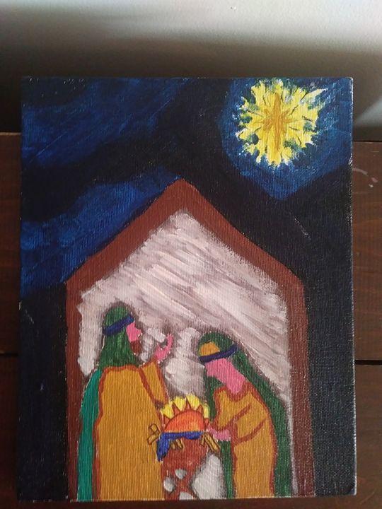 Baby Jesus - Art By Jamie Lee Tobis