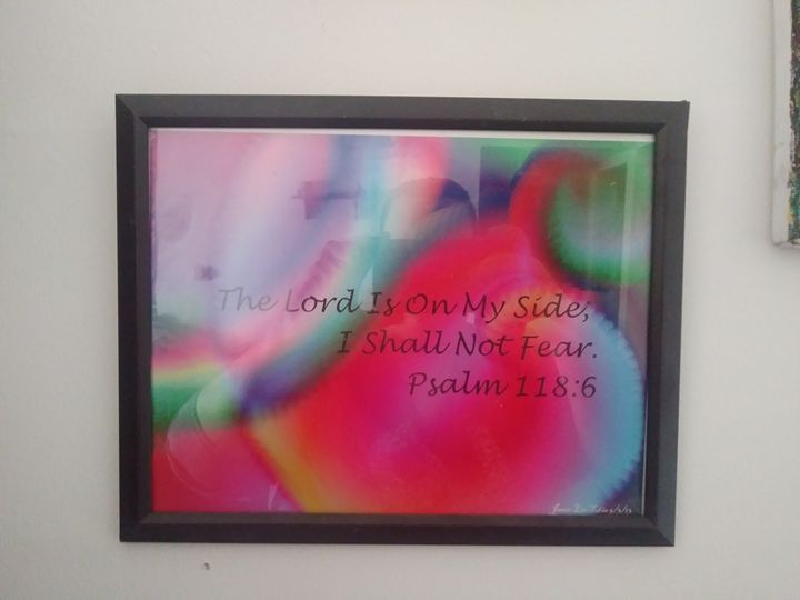Psalm Abstract - Art By Jamie Lee Tobis