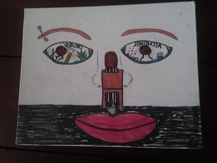 Prisoner Of The Mind - Art By Jamie Lee Tobis