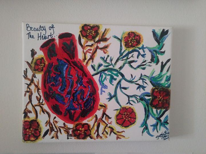 Beauty Of The Heart - Art By Jamie Lee Tobis