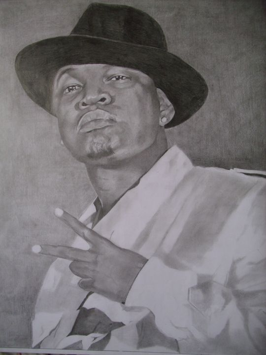 Pencil Drawing of Ne-Yo - treasuregem.artpages