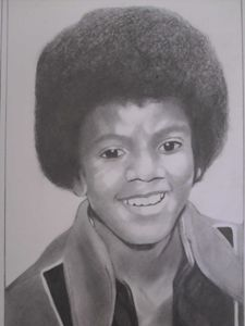 Pencil Drawing of Michael Jackson