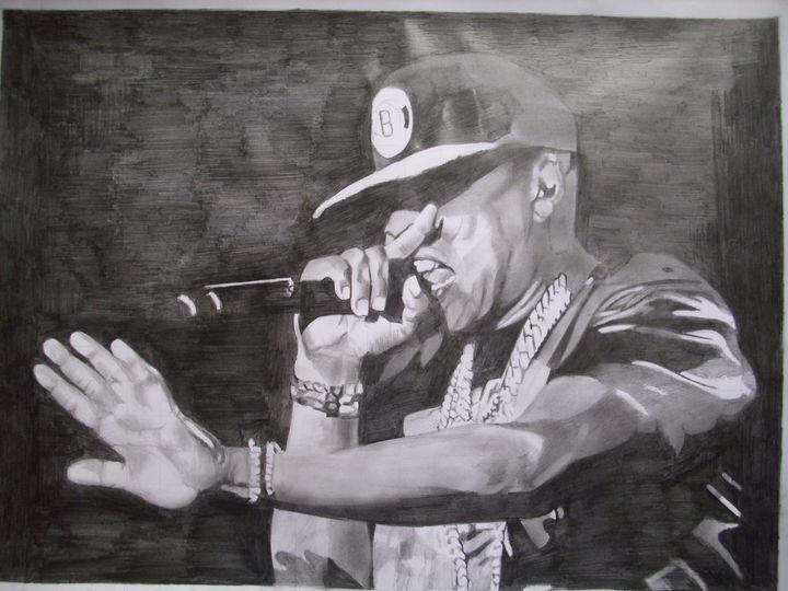 Pencil Drawing Of Jay-Z - treasuregem.artpages