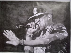 Pencil Drawing Of Jay-Z