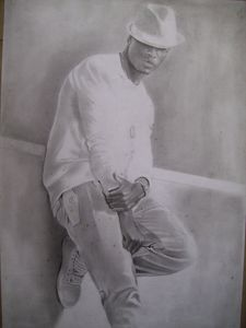 Pencil Drawing Of Ne-Yo