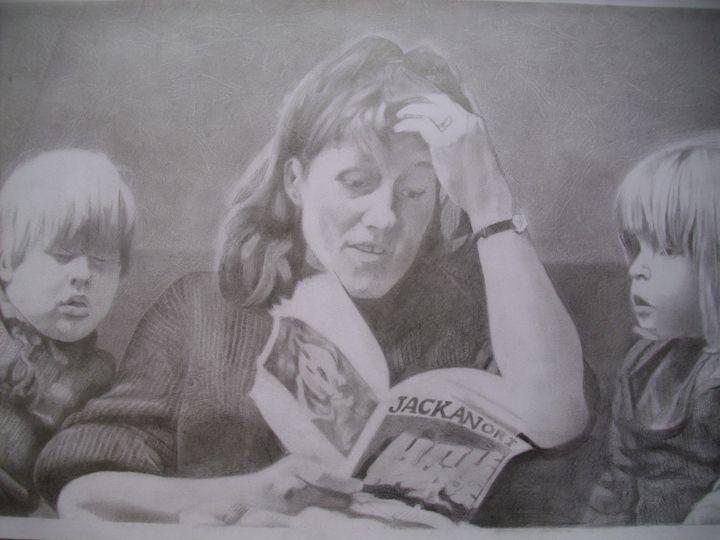 Boris, Rachel With Their Mother. - treasuregem.artpages