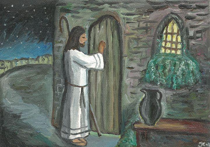 Jesus knocks on the door - Jana ART