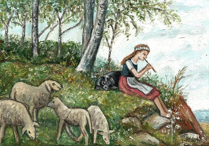 shepherdess - Jana ART