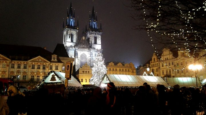 Christmast market 1 - Jana ART