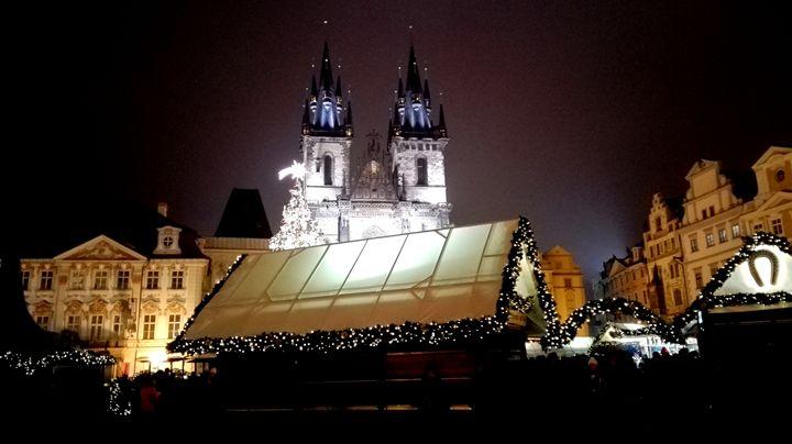 Christmast market 2 - Jana ART