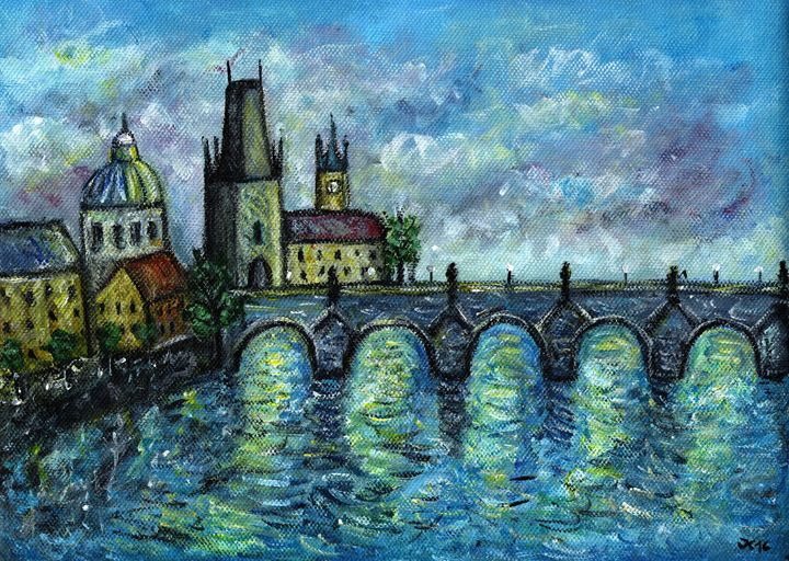 Charles Bridge - Jana ART