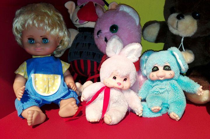 vintage toys - Jana ART
