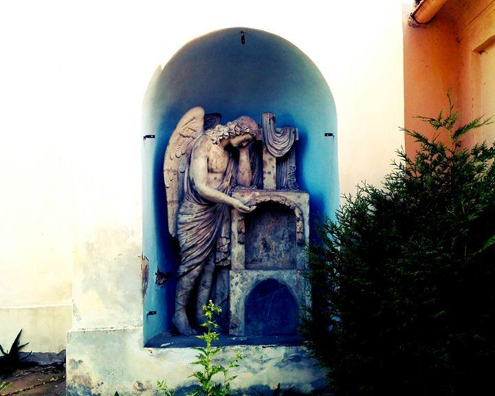 crying angel 1 - Jana ART