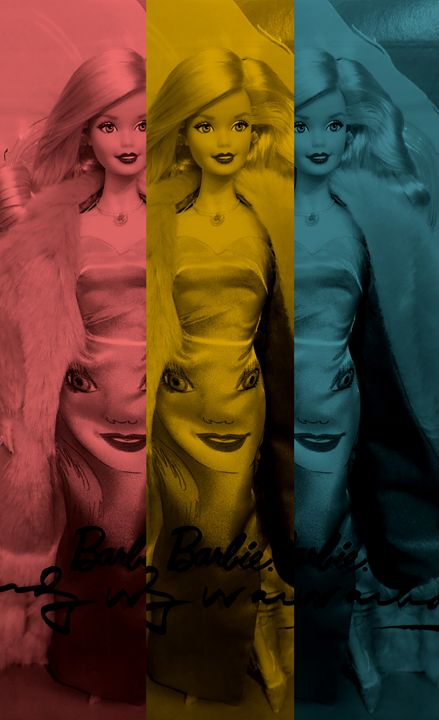 Andy Warhol Barbie 2 - Jana ART