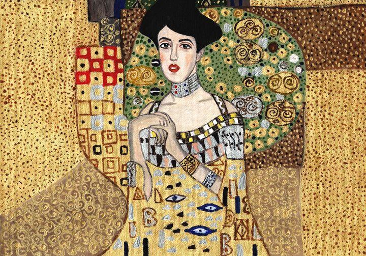 Portrait of Adele Bloch-Bauer - Jana ART