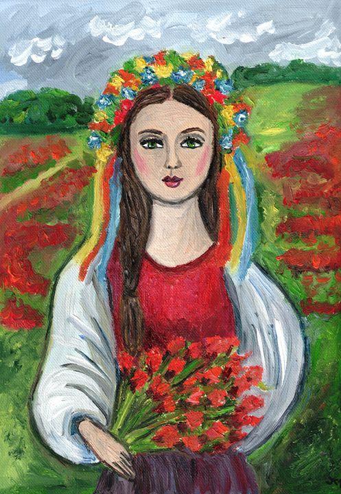 woman from Slovakia - Jana ART