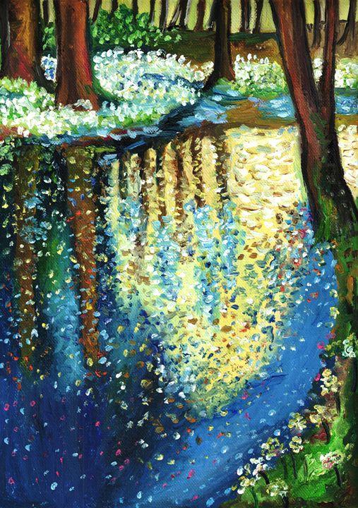 Spring river - Jana ART