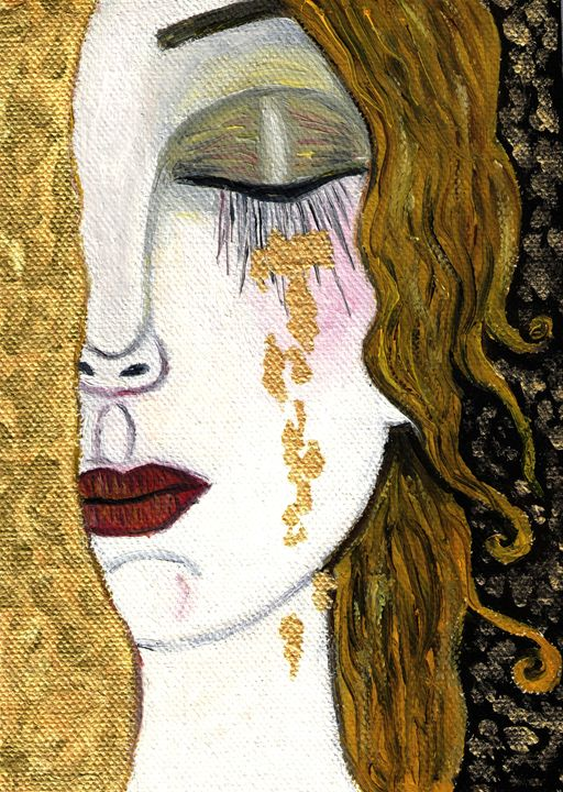 Gustav Klimt - Cry - Jana ART