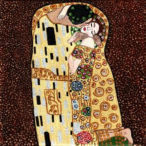 Klimt Kiss - replica