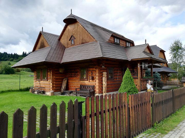 Drevenica - slovak wooden house - Jana ART