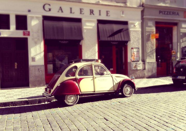 vintage car - Jana ART