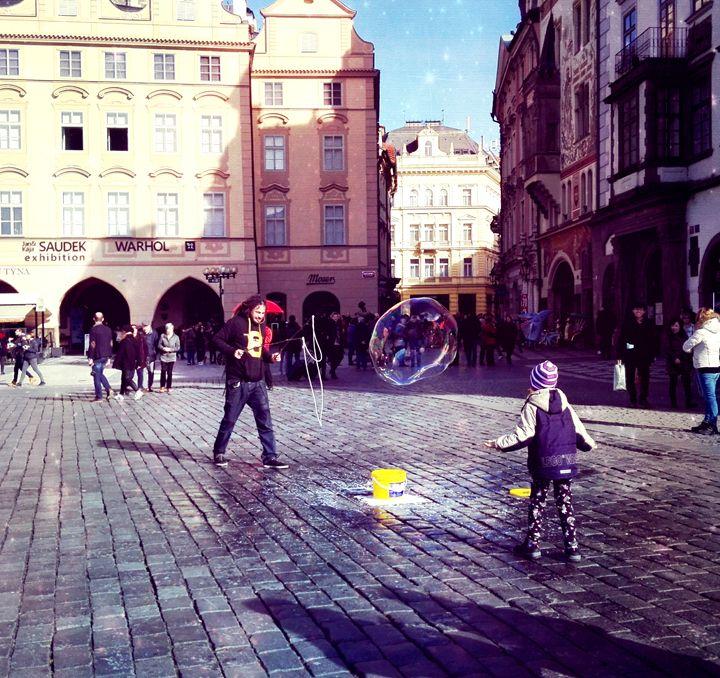 soap bubble - Jana ART