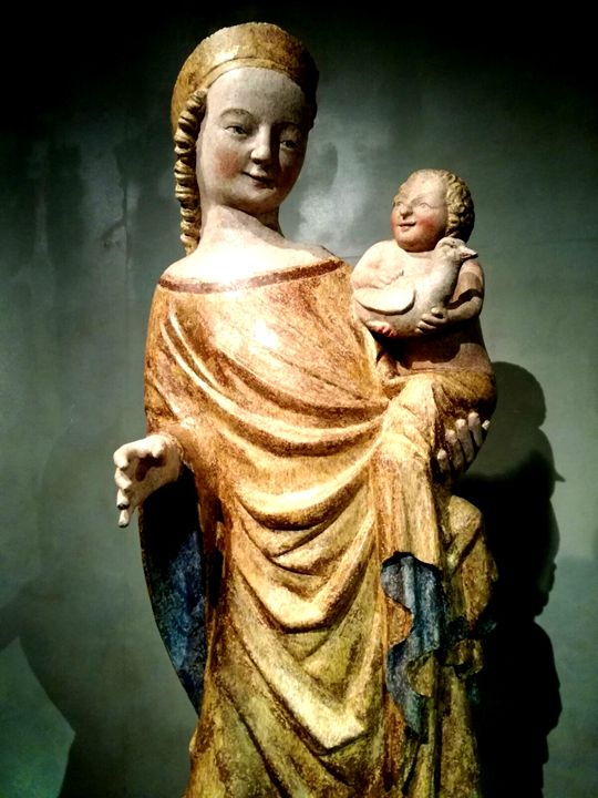 Mary and  baby jesus - Jana ART