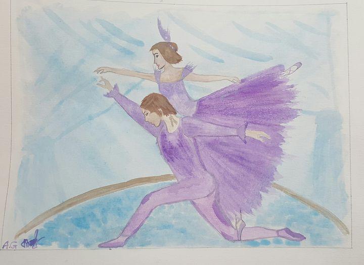 Men and women ballet - ArtAnnaGogoleva