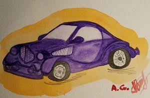 Purpur car - ArtAnnaGogoleva