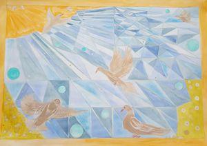 Transition to world of the dream - ArtAnnaGogoleva