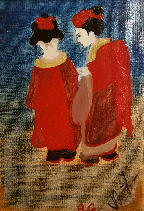 Secrets of a geisha - ArtAnnaGogoleva