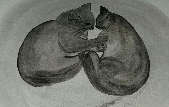 Sleep cat - ArtAnnaGogoleva