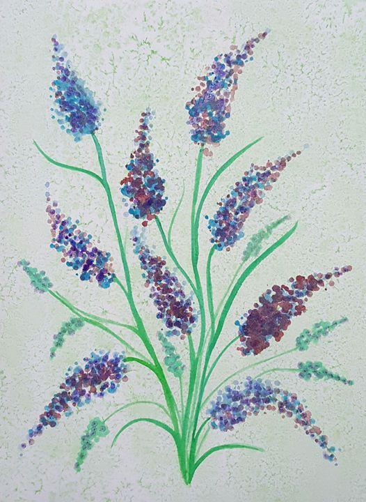 Magic flowers - ArtAnnaGogoleva