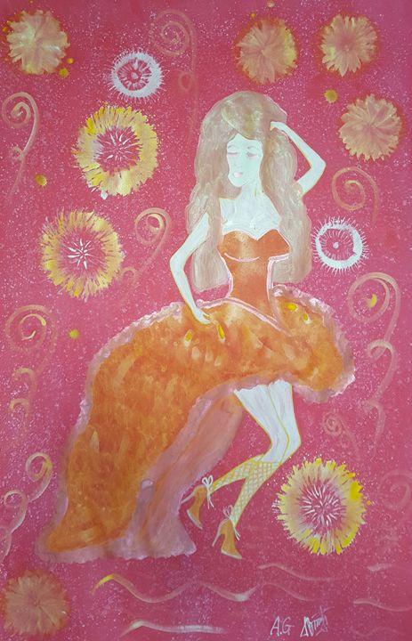 Holiday woman - ArtAnnaGogoleva